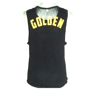 "FREE PEOPLE Movement ""Golden"" Muscle Tee Sz S"
